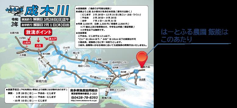成木川魏業組合案内図